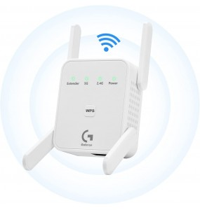 Gobran WI-FI repeater 2.4/5Ghz 1200Mbps