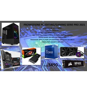 PC EDITING/GAMING SERIE PRO 2021 i9-11900F
