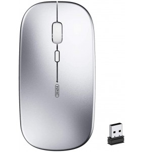 INPHIC Mouse Wireless Ricaricabile 1600 Dpi